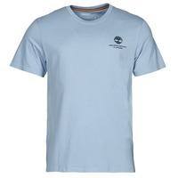 Textil Muži Trička s krátkým rukávem Timberland CC ST TEE Modrá