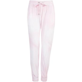 Textil Ženy Teplákové kalhoty Pinko  Růžová