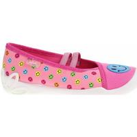Boty Dívčí Papuče Befado Dívčí bačkory  116X293 růžová Růžová