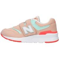 Boty Dívčí Nízké tenisky New Balance PZ997HSG Růžová