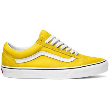 Boty Muži Skejťácké boty Vans Old skool Žlutá