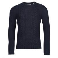 Textil Muži Svetry Jack & Jones JJCRAIG Tmavě modrá