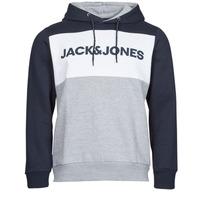 Textil Muži Mikiny Jack & Jones JJELOGO Tmavě modrá