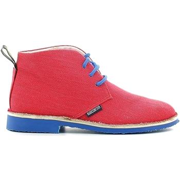 Boty Děti Kotníkové boty Submariine London SMLK610030 Červené