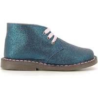 Boty Děti Kotníkové boty Grunland PO0579 Modrý