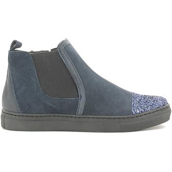 Boty Dívčí Kotníkové boty Holalà HS050009L Modrý