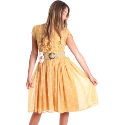 Textil Ženy Krátké šaty Fracomina FR20SMORIANA Žlutá