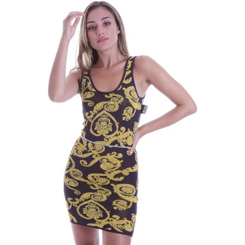 Textil Ženy Krátké šaty Versace B4HVB81050414KA9 Černá