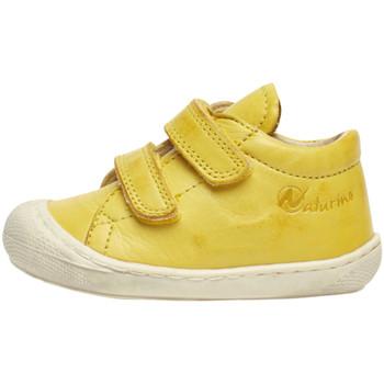 Boty Děti Nízké tenisky Naturino 2012904 16 Žlutá