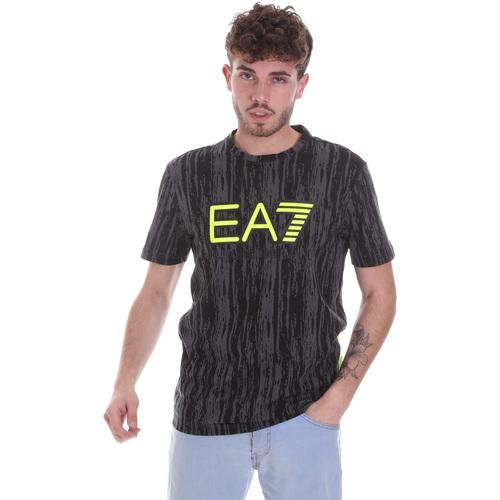 Textil Muži Trička s krátkým rukávem Ea7 Emporio Armani 6HPT04 PJB1Z Černá