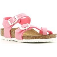 Boty Dívčí Sandály Birkenstock 371603 Růžový