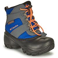 Boty Děti Zimní boty Columbia CHILDRENS ROPE TOW Modrá / Oranžová