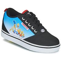 Boty Děti Boty s kolečky Heelys Pro 20 Prints Černá / Modrá