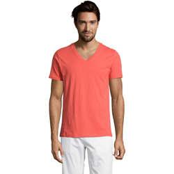 Textil Muži Trička s krátkým rukávem Sols Master camiseta hombre cuello pico Otros