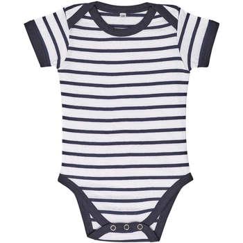 Textil Děti Set Sols Body bebé a rayas Azul