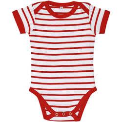 Textil Děti Set Sols Body bebé a rayas Rojo