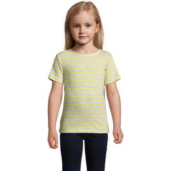 Textil Děti Trička s krátkým rukávem Sols Camiseta niño cuello redondo Gris