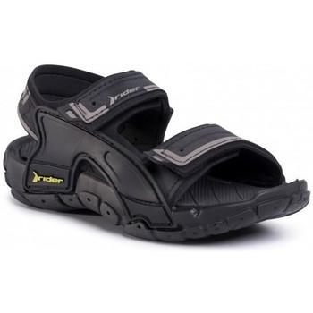 Boty Děti Sandály Rider TENDER XI KIDS 82817 Černá
