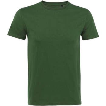 Textil Muži Trička s krátkým rukávem Sols CAMISETA DE MANGA CORTA Verde