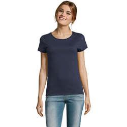 Textil Ženy Trička s krátkým rukávem Sols CAMISETA DE MANGA CORTA Azul