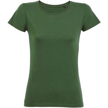 Textil Ženy Trička s krátkým rukávem Sols CAMISETA DE MANGA CORTA Verde