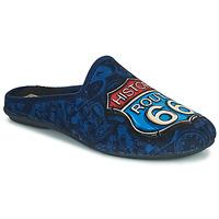 Boty Muži Papuče Rondinaud ROUTE 67 Tmavě modrá