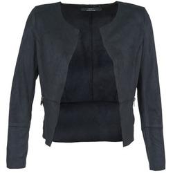 Textil Ženy Kožené bundy / imitace kůže Only KIM Tmavě modrá