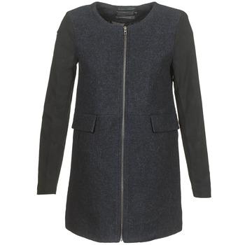 Textil Ženy Kabáty Only LYDIA Tmavě modrá
