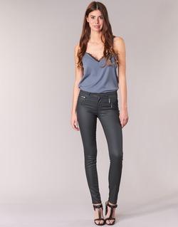Textil Ženy Kapsáčové kalhoty Only NEW OLIVIA COATED Černá