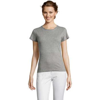 Textil Ženy Trička s krátkým rukávem Sols Miss camiseta manga corta mujer Gris