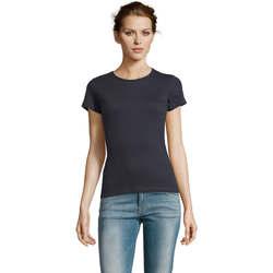 Textil Ženy Trička s krátkým rukávem Sols Miss camiseta manga corta mujer Azul