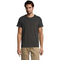 Textil Muži Trička s krátkým rukávem Sols Mixed Men camiseta hombre Gris