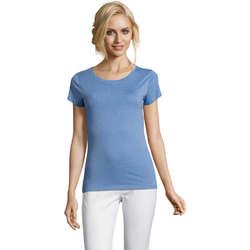 Textil Ženy Trička s krátkým rukávem Sols Mixed Women camiseta mujer Azul