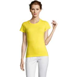 Textil Ženy Trička s krátkým rukávem Sols Miss camiseta manga corta mujer Amarillo
