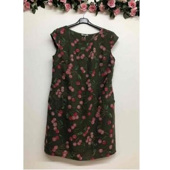 Textil Ženy Krátké šaty Fashion brands CERISIER-1533-KAKI Khaki