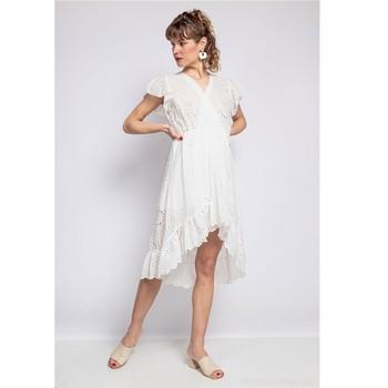 Textil Ženy Krátké šaty Fashion brands U5233-BLANC Bílá