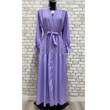 Textil Ženy Společenské šaty Fashion brands 2155-LILAS Fialová