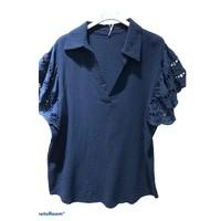 Textil Ženy Halenky / Blůzy Fashion brands 310311-NAVY Tmavě modrá
