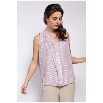 Textil Ženy Halenky / Blůzy Fashion brands TP25-PINK Růžová
