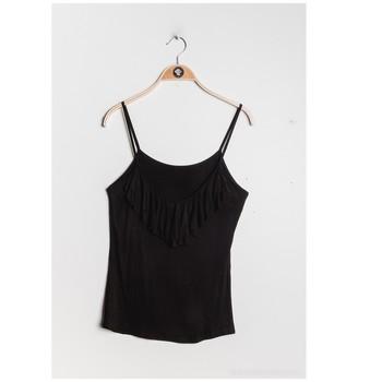 Textil Ženy Halenky / Blůzy Fashion brands D852-BLACK Černá