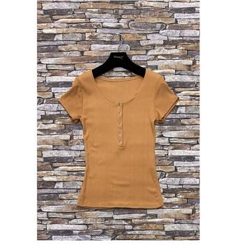 Textil Ženy Halenky / Blůzy Fashion brands HS-2863-BROWN Hnědá
