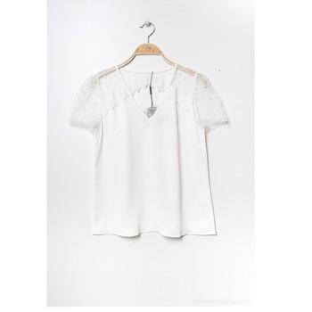Textil Ženy Halenky / Blůzy Fashion brands K5518-WHITE Bílá