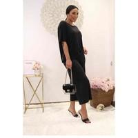 Textil Ženy Halenky / Blůzy Fashion brands 9159-BLACK Černá
