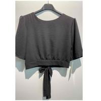 Textil Ženy Halenky / Blůzy Fashion brands 5172-BLACK Černá