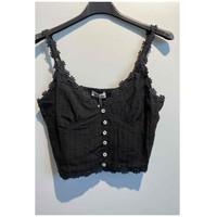 Textil Ženy Halenky / Blůzy Fashion brands 6133-BLACK Černá
