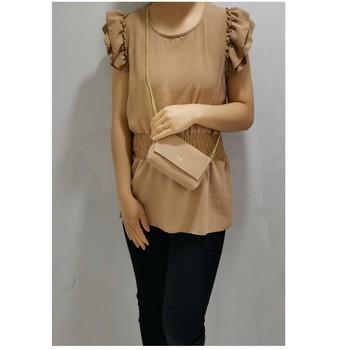 Textil Ženy Halenky / Blůzy Fashion brands 3101-CAMEL Velbloudí hnědá