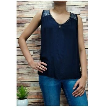 Textil Ženy Halenky / Blůzy Fashion brands 2940-BLACK Černá