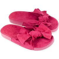 Boty Ženy Dřeváky Bella Paris Dámske ružové šľapky ORLINA PARIS cyklamenová