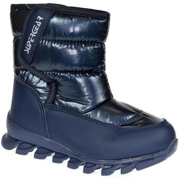 Boty Děti Zimní boty Super Gear Detské modré snehule JAZZY tmavomodrá