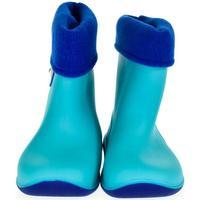 Boty Děti Holínky Lin Detské modré gumáky BEAR modrá